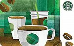 $50 Starbucks Gift Card + $5 Amazon Credit $50