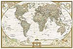 World Executive [Poster Size and Tubed] (National Geographic Reference Map) $6.59