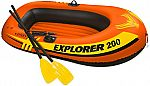 Intex Recreation 58331EP Explorer 200 2-Person Boat Set, 73 x 37-In. $8.23