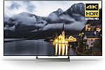 Sony XBR55X900E 55-Inch 4K Ultra HD Smart LED TV (2017 Model) $998, 65-Inch $1498