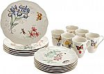 Lenox Butterfly Meadow 18-Piece Dinnerware Set (Service for 6) $99.99 (72% Off)