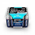 30-Pack Rayovac Alkaline AAA Battery $5.48