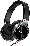 Pioneer SE-MHR5 Closed Dynamic Headphones w/ Balanced Detachable Cable $75