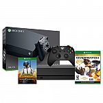 Xbox One X 1TB Console + Overwatch: GOTY Edition (Disk) + PUBG (Email Delivery) $459.99