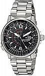Citizen Men's BJ7000-52E Nighthawk Stainless Steel Eco-Drive Watch $155 and more