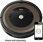 iRobot - Roomba 890 App-Controlled Self-Charging Robot Vacuum $400 (Save $100)