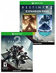 Destiny 2 + Expansion Pass $32 + pickup