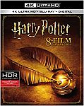 Harry Potter 8-film Collection [4k UHD + Blu-ray] $85.91