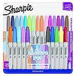 25-Ct Sharpie Electro Pop Permanent Markers $10
