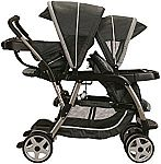 Graco Ready2Grow Click Connect Stand and Ride Double Stroller $75