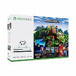 Microsoft Xbox One S Minecraft Complete Adventure Bundle $215