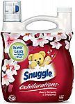 Snuggle Exhilarations Liquid Fabric Softener, Cherry Blossom & Rosewood, 96 Fluid Ounces $6.62