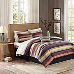 9-Piece Comforter w/ Cotton Sheet Set, All Sizes $30 (Save 85%)
