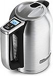 (Lowest Price)  KitchenAid 1.7-Liter Electric Kettle with LED Display $65 (orig. $100)