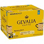 100-count Gevalia Signature Blend Coffee, K-CUP Pods $29