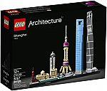 LEGO Architecture Shanghai 21039 Building Kit (597 Piece) $48 (Save 20%)