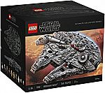 LEGO Star Wars Millennium Falcon 75192 Building Kit (7541 Piece) $800