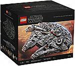 (Coming 12:50PM ET) LEGO Star Wars Millennium Falcon 75192 Building Kit (7541 Piece) $480