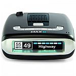 Escort Passport Max2 HD Radar Detector With Bluetooth, GPS and OLED Display $275