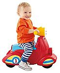 Fisher-Price Laugh & Learn Smart Stages Scooter $12.48 (org. $29.99)