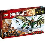 LEGO NINJAGO The Green NRG Dragon (70593) $29.84 (Was $49.99) and More