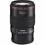 Canon EF 100mm f/2.8L Macro IS USM Lens $649, EF 24-70mm f/2.8L II USM LensEF 24-70mm f/2.8L II USM Lens $1399 and more