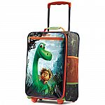 "American Tourister Disney 18"" Upright Childrens Luggage (The Good Dinosaur) $15, backpack/lunchbag combo from $9.95"