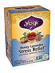 Yogi Honey Lavender Stress Relief Tea, 16 Tea Bags $2.84