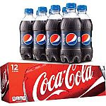 50% Off All 12 Pk & 8 Pk Sodas (In Store & Today Only)
