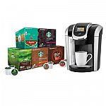 Keurig K475 Coffee Maker Starter Bundle $99 (Saving $117.44)