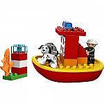 LEGO DUPLO Sets: Fire Boat $9, Horses $10