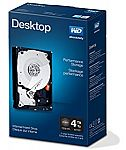 "WD Black 4TB 7200 RPM 3.5"" Hard Drive $145"