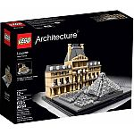 LEGO Architecture Louvre (21024) $49 (Was $60)