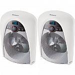 2-Pk Holmes Bathroom Safe Heater $48