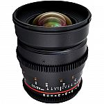 Rokinon 24mm T1.5 Cine ED AS IF UMC Lens for Canon EF Mount $449