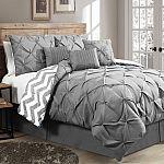 Wayfair - Germain 7 Piece Reversible Comforter Set $64.99