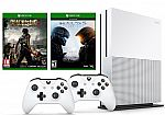 Xbox One S 1TB Console bundle - Halo 5, Dead Rising 3, Extra Wireless Controller $290
