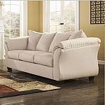 Signature Design By Ashley Madeline Fabric Pad Arm Sofa 240