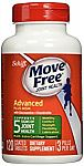 120-ct Move Free Glucosamine Chondroitin MSM and Hyaluronic Acid Joint Supplement $13.73