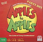 Mattel - Apples to Apples Party Box Card Game - Red $9.48