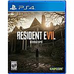 Resident Evil 7 Biohazard PlayStation 4 $44.99