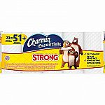 Charmin Essentials Strong Toilet Paper 20 Giant Rolls $7.99