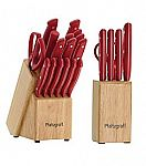 Pfaltzgraff 17-Pc.Cutlery Set + 6-pc. Bonus Prep Set $29.97 + FS