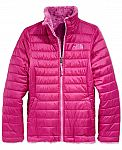 The North Face Girl's Reversible Mossbud Swirl Jacket $66 (orig. $110)