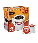 112-Ct Keurig Dunkin' Donuts K-Cups $25.14 + Free Shipping