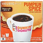 122-Ct Keurig Cafe Escapes Pumpkin Spice K-Cups $25 Shipped