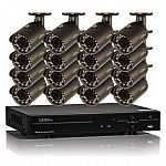 Q-See 16 Channel 1080p HD Security System with 2TB Hard Drive, 16 1080p Bullet Cameras, and 80' Night Vision $599