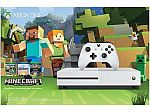 Xbox One S 500GB Console - Minecraft Favorites Bundle $200 or less