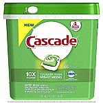 105-count Cascade ActionPacs Dishwasher Detergent, Fresh Scent $13.90