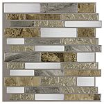 Peel-and-Stick Mosaic Wall Tiles $1.99 (was $8)